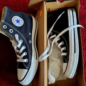 Unisex converse high top shoes